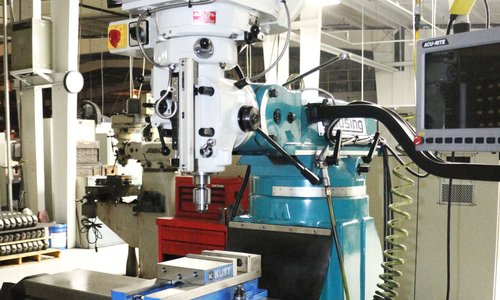 Clausing CNC Mill